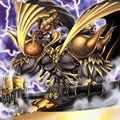 Foto goldd, dios de la pelea del mundo oscuro