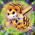 Foto abeja de cuerda