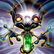 Foto hipnotizador alienígena
