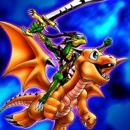 Foto dragón del aligátor de la espada