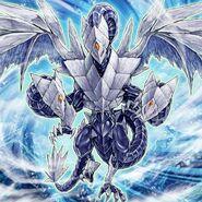 Foto trishula, dragón de la barrera de hielo
