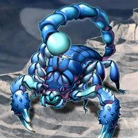Foto escorpión demonio