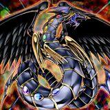 Foto dragón arco iris oscuro