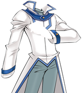 Obelisk Blue Uniform - WHITE INVERTED