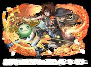 Téa Gardner, Hechicera de Fuego y Amistad Brillante (colaboración con Puzzle & Dragons)
