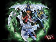 Yu-Gi-Oh! GX fondo de pantalla 4kids