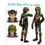 Shinji Turbo Duelo arte conceptual