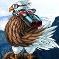 Foto pájaro sónico