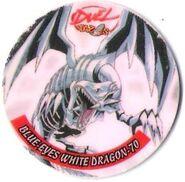 Dragón Blanco de Ojos Azules (Duel Tazos)