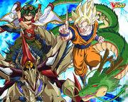 Yuya Gokú Dragones
