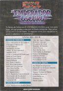 Lista Baraja Estructura El Emperador Oscuro