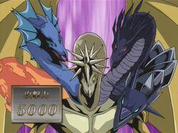 Dragón de Cinco Cabezas - Invocación