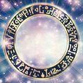 Foto círculo de magia oscuro