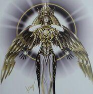 Foto el dios creador de luz, horakhty