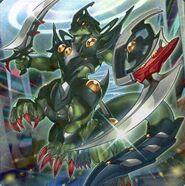 Foto soldado de asalto alienígena m-frame