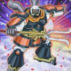 Foto samurai superpesado gran benkei