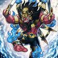 Foto avatar del rey de fuego barong