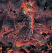 Foto dogoran, el kaiju de la llama loca