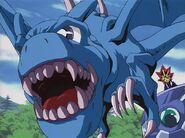 Dragón Alado, Guardián de la Fortaleza 1 en el anime
