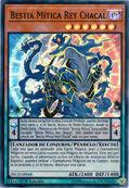 Bestia mítica rey chacal