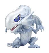 Dragón Blanco de Ojos Azules Chibi
