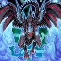 Foto dragón zombi de ojos rojos