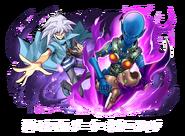 Yami Bakura y Necrofear Oscuro (colaboración con Puzzle & Dragons)
