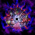 Foto la oscuridad mágicamente sellada fusión
