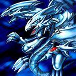 Foto dragón de ojos azules definitivo