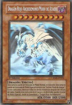 Dragón rojo archidemonio-modo de ataque