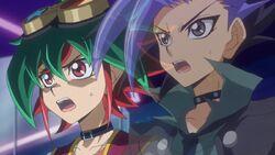 Yuya y Yuto sorprendidos