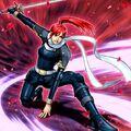 Foto rosa, guerrera de la venganza
