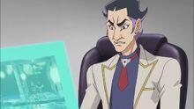 Kitamura observando el Duelo