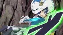 Yugo se equipa su Disco de Duelo