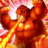 Foto gorila berserker