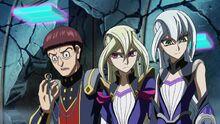 Mamoru y las hermanas Tyler