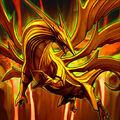 Foto dragón de material de primera