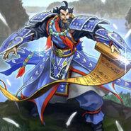 Foto antiguos guerreros - excéntrico lu jing