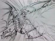 Blue Eyes White Dragon Horobi no Burst Stream
