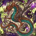 Foto mítico dragón arbóreo
