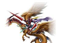 Señor Gaia el Caballero Feroz Duel Links