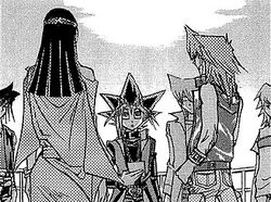Yugi aprende sobre la Batalla Ceremonial