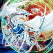 Foto dragón cósmico blazar
