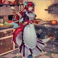 Foto dragoncella cocinera