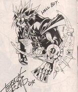 Hellboy kazuki takahashi