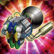 Foto mecanismo de afinación del torque