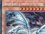Dragón Blanco Alternativo de Ojos Azules
