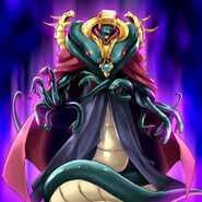 Foto vennominon, rey de las serpientes venenosas
