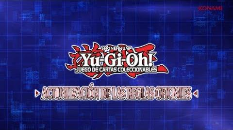 Yu-Gi-Oh! TCG ES Actualización de las Reglas Oficiales de JCC - Julio de 2017