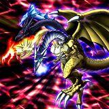 Foto dragón de cinco cabezas